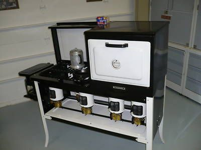 Kerosene Cook Stove , The One I Used Was A 2 Burner , No Top Oven Like  This. First Place With Pot Belly Stove For Heat And A Pipe For Cold Running  ...
