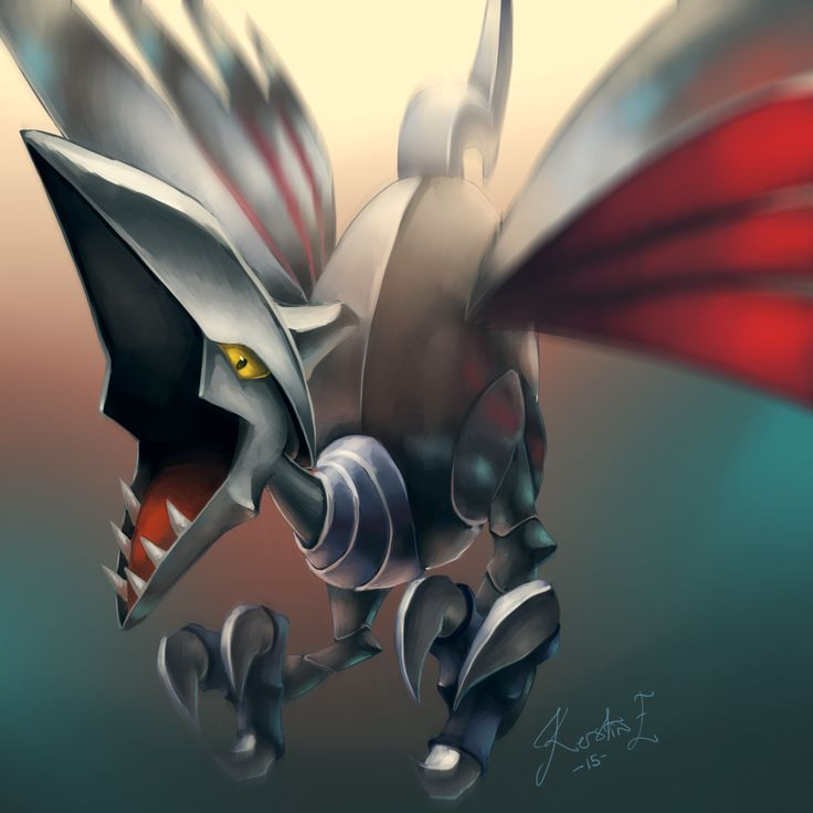 Skarmory. One of Brandon's strong pokemon