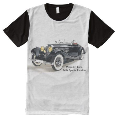 Classic cars Men's-All-Over-Printed-Panel-T-Shirt All-Over-Print T-Shirt - click to get yours right now!
