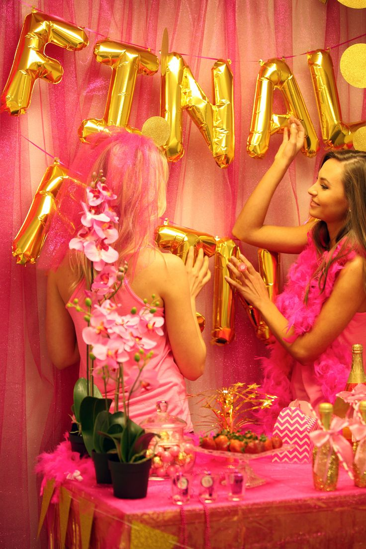 56 Best Pink Gold Bachelorette Party Images On Pinterest