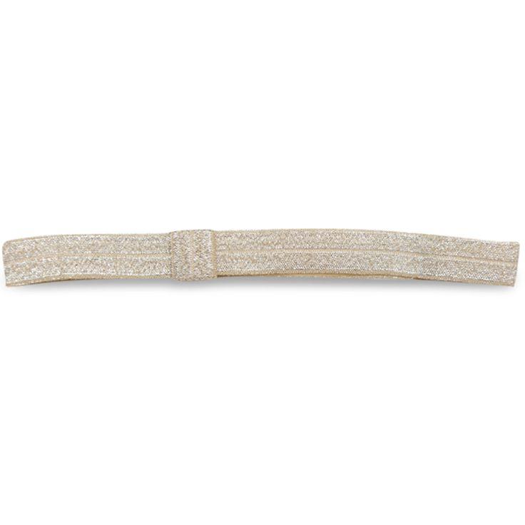 Bow\'s by Stær Hårbånd Guld (elastik)