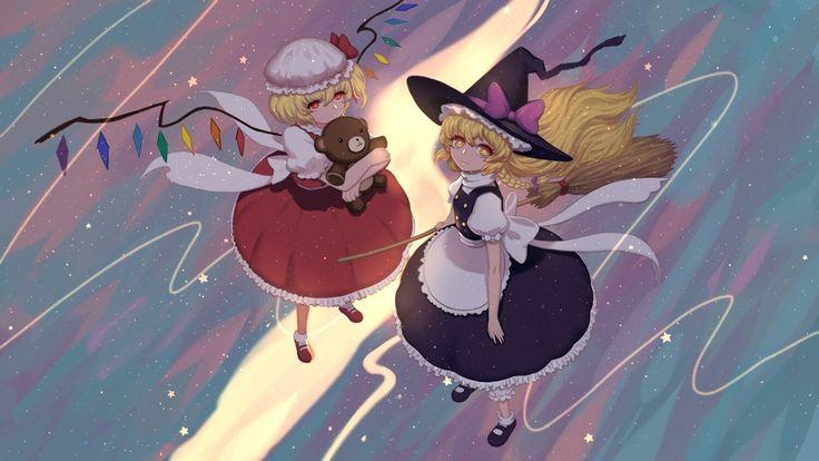 Flandre Scarlet & Kirisame Marisa