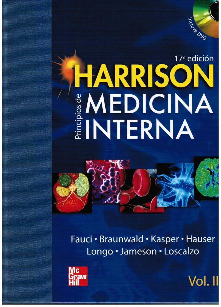 Fauci A, Braunwald E, Kasper D, Hauser S, Longo D, Jameson JL, et al. 17a. ed. México: McGraw-Hill; 2008. v. 2.