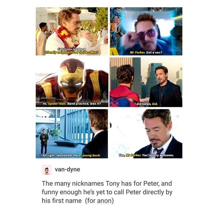 If he yells Peter during infinity wars I'm gonna freak.....