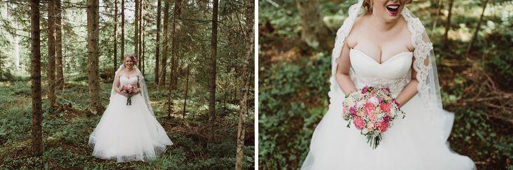 Bridal look  | Scandinavian wedding | Pitsiniekka | Picture by Jaakko Sorvisto www.jaakkosorvisto.com