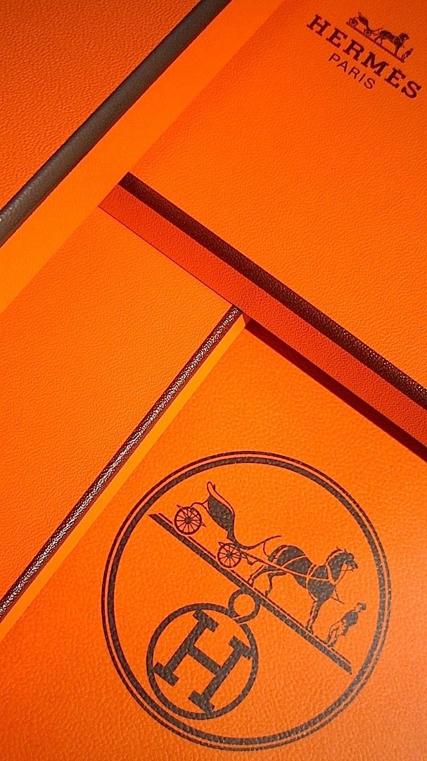 #Hermes-ingly stunning #packaging, #Gift box