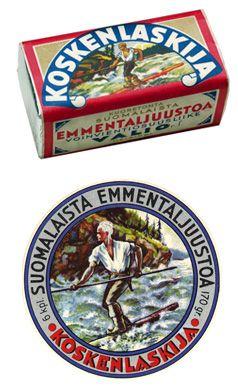Valio Koskenlaskija® sulatejuusto - the iconic Lumberjack processed cheese