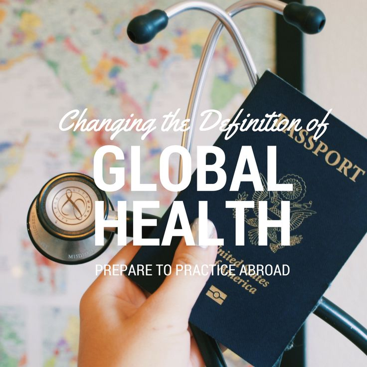 Changing the Definition of Global Health | MOD MED