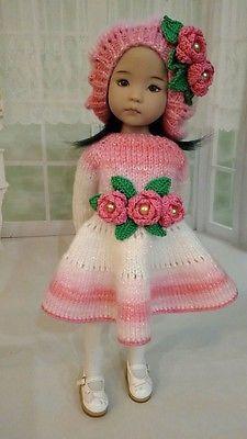 """Единственный в своем роде наряд для куклы Дианна Effner Little Darling 13"""""""