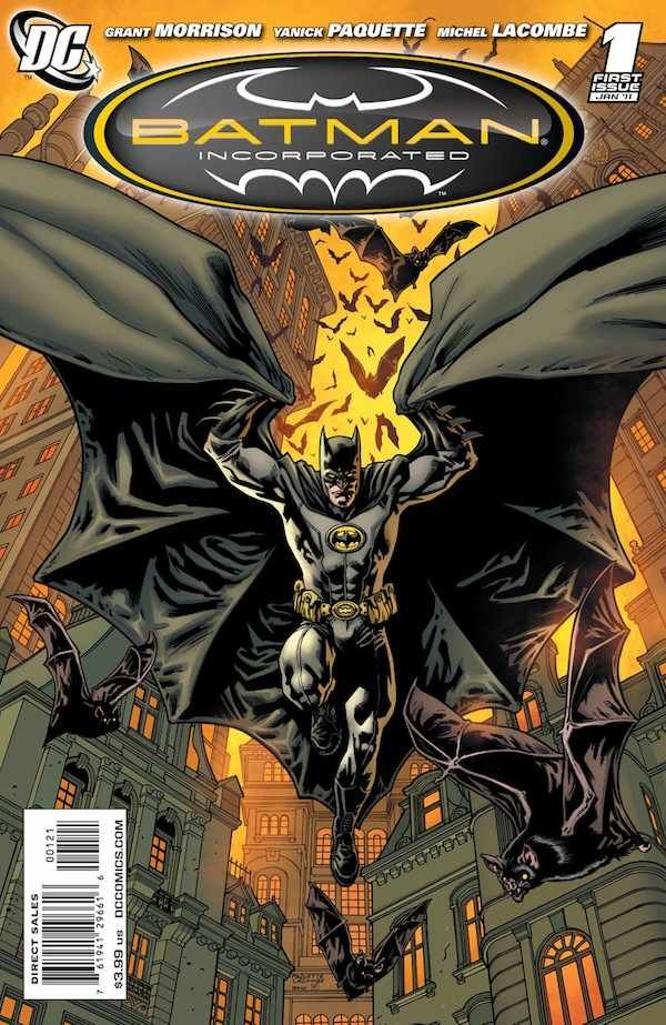 """Batman Incorporated (2011) - #1 """"Mr. Unknown Is Dead"""" (Paquette Variant)"""