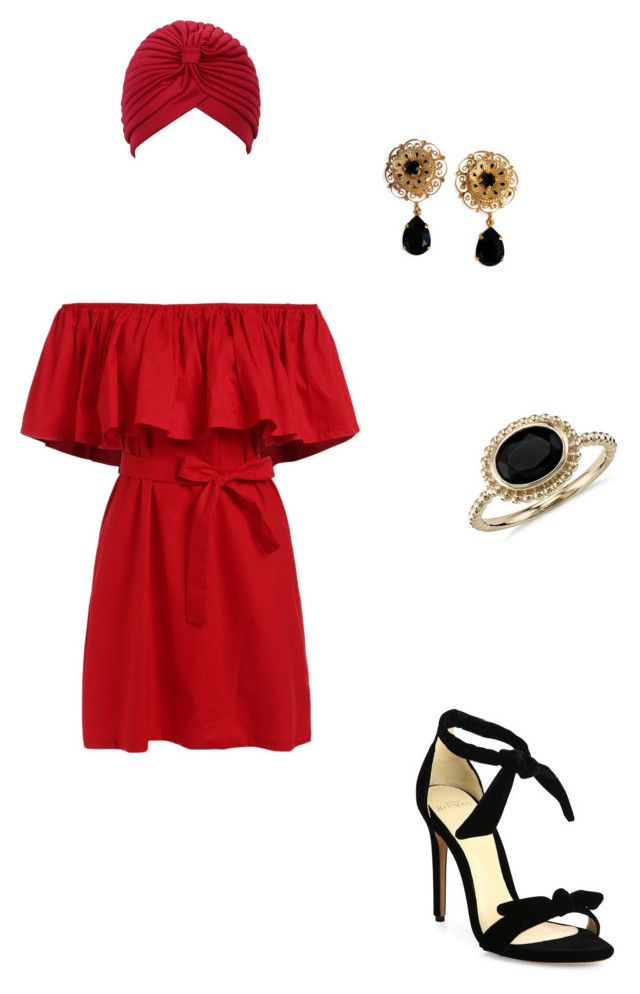 STYLING_3 by alyants-stylist on Polyvore featuring мода, Alexandre Birman, Blue Nile and Dolce&Gabbana