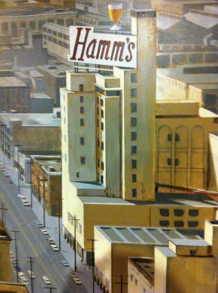 We are working - really. At the old Hamm's brewery | Beer ...