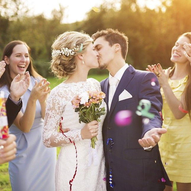 Find the perfect hashtag for your wedding with this generator.