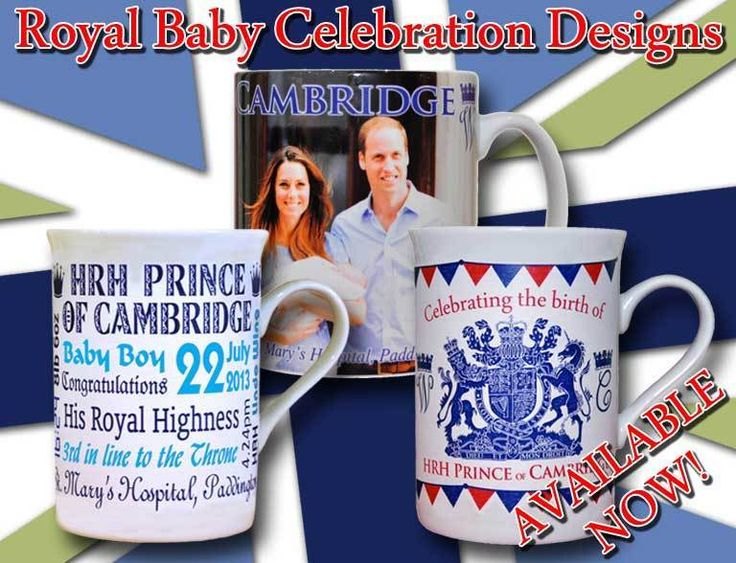 set von 3 königliche baby becher prince George Cambridge REDUZIERTE FÜR SCHNELL