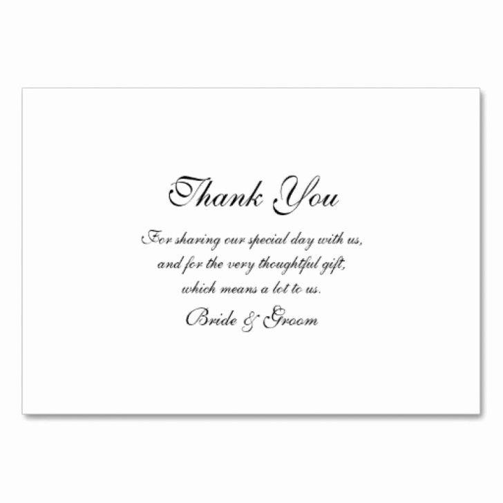 Thank You Cards Wedding Template Fresh Thank You Card Sample Thank You Card Thank You Card Wording Wedding Thank You Cards Thank You Card Template