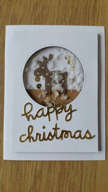 Happy Christmas shaker