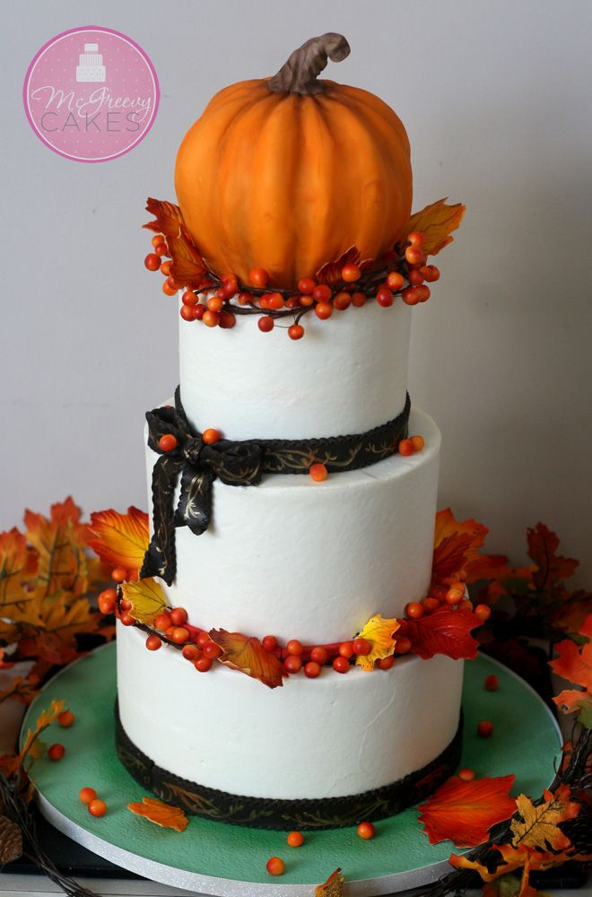 A Fabulous Fall Wedding - McGreevy Cakes