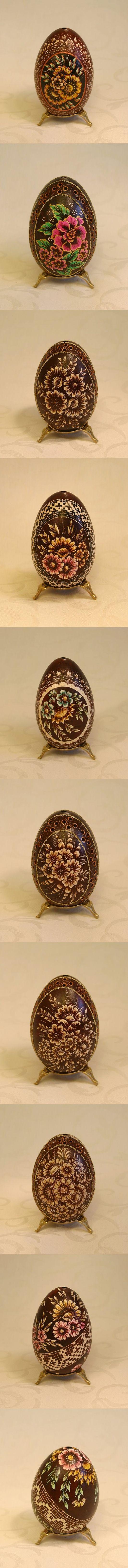 Polish Easter Eggs - kraszanki/pisanki (stratched eggs)
