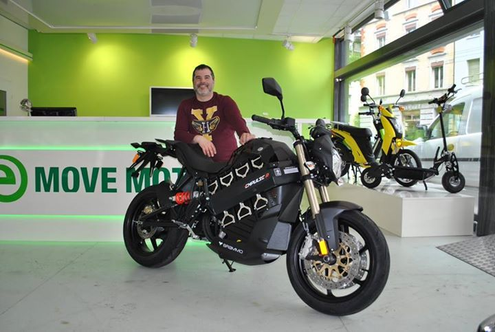 Gianni Sentina Of Emove Motors Of Zurich Switzerland