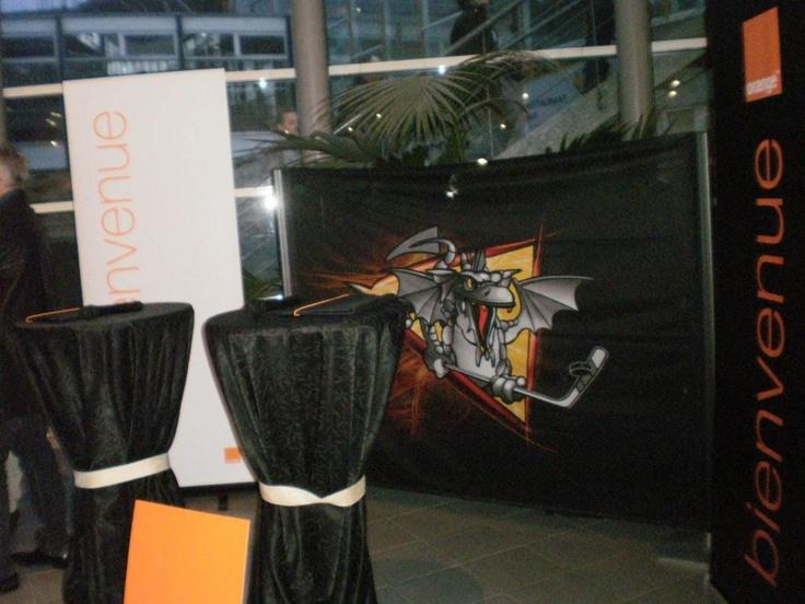 Mars 2013 : #Orange partenaire des #Dragons de #Rouen