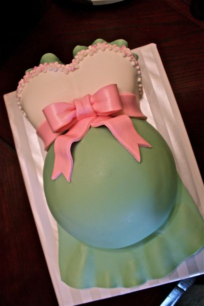 Baby Bump Cake Tutorial