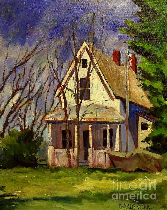 Old house painting by charlie spear inspiration for Classic house painting