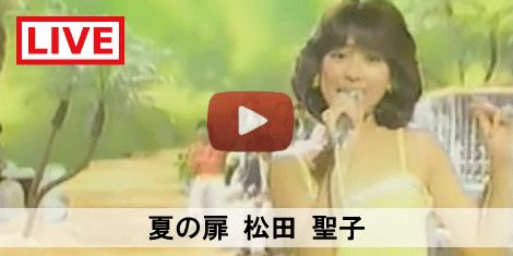 80's JPOP SONG 夏の扉 / 松田聖子 #80S #80年代 #SONG #MUSIC #LIVE #LIVEMOVIE