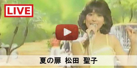 80's JPOP SONG 夏の扉 / 松田聖子 #80S #80年代 #SONG #MUSIC #LIVE #LIVEMOVIE