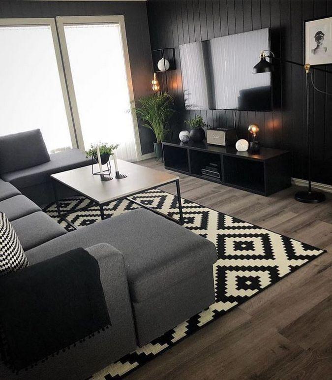 60 + gemütliche kleine Wohnzimmer Dekor Ideen für Ihre Wohnung – #Decor # für #No … – Kochen