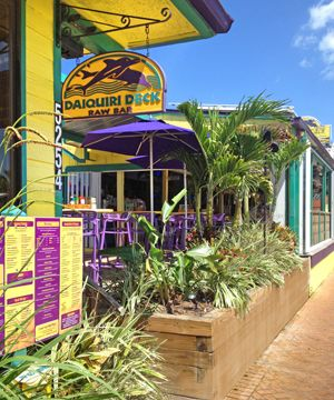 Daiquiri Deck - 2 great Sarasota locations in Siesta Key Village on St. Armands Circle with a new location in Venice, Florida. LOTS of frozen daiquiris to choose from!