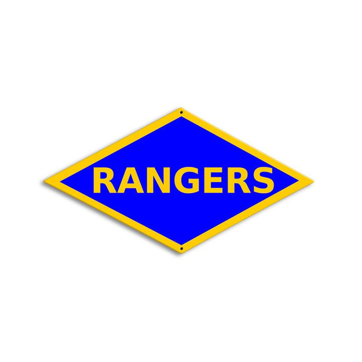 From the Altogether American licensed collection, this WWII Ranger Division custom metal sign measures 17 inches by 9 inches and weighs in at 2 lb(s). This custom metal shape is hand made in the USA u