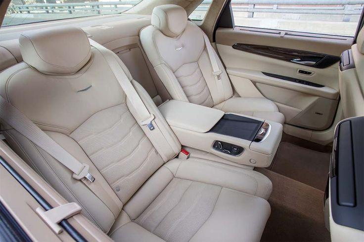 2017 Cadillac CT6 - back seat