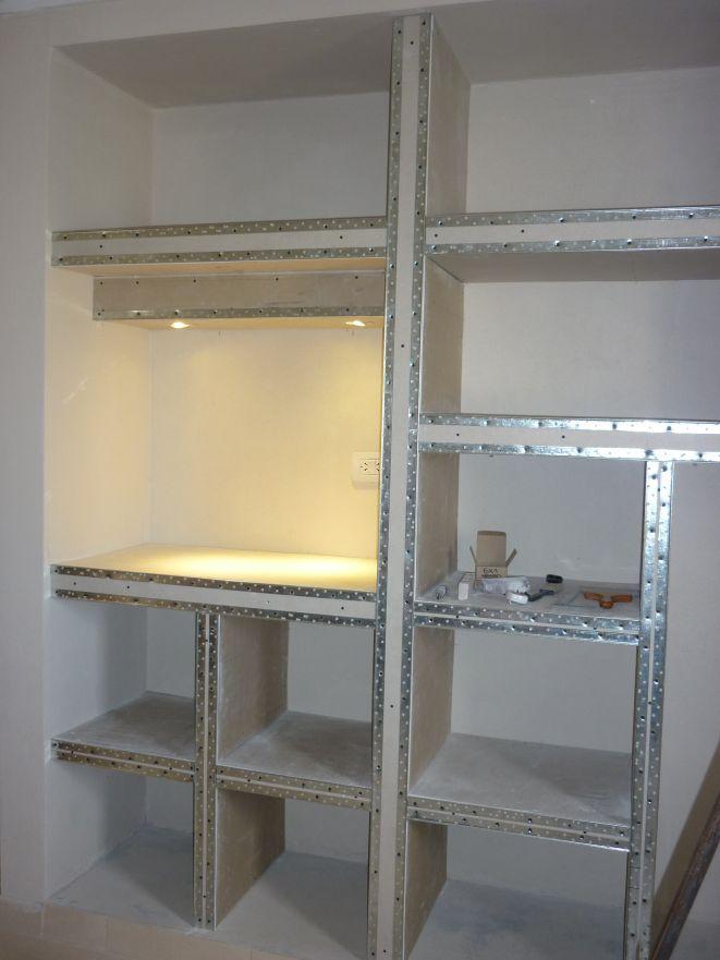 Placard de durlock buscar con google arquitectura - Como instalar lamparas led ...
