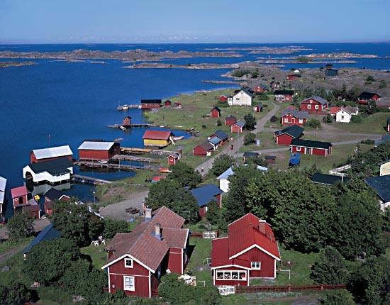 Village in Finland.