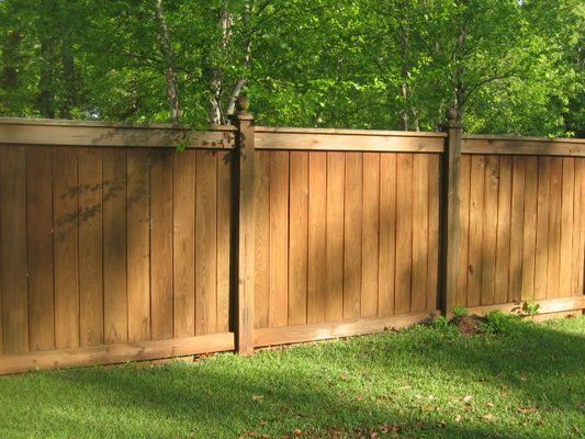 bamboo fence panels are easy to install and can be used to visually divide