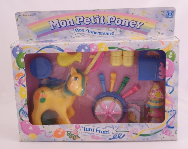 Mon Petit Poney (HASBRO) 1982 - 1994