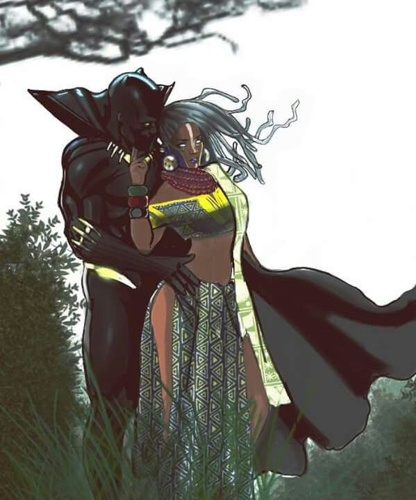 storm and black panther meet
