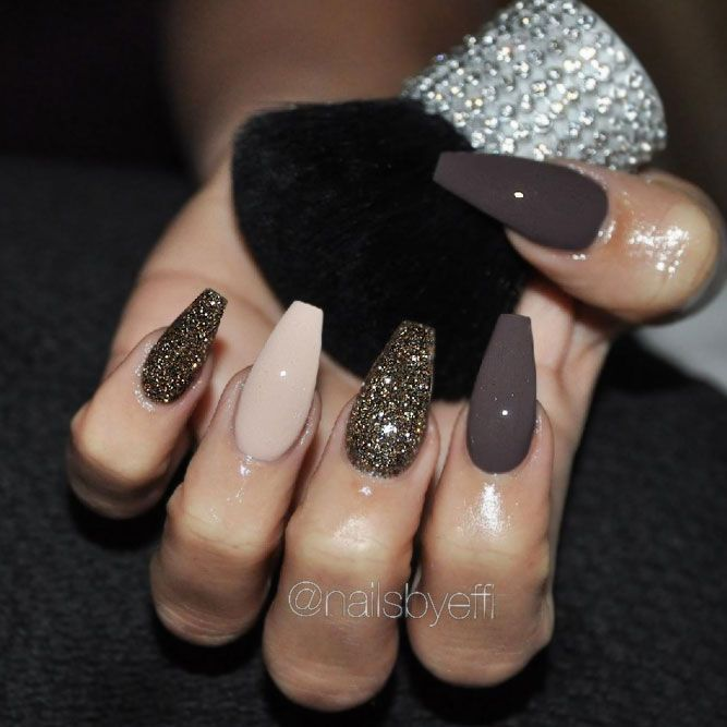 45 Fall Nail Art Designs To Boost Mood Naildesignsjourna Com Classy Nail Designs Gorgeous Nails Fall Nail Art Designs
