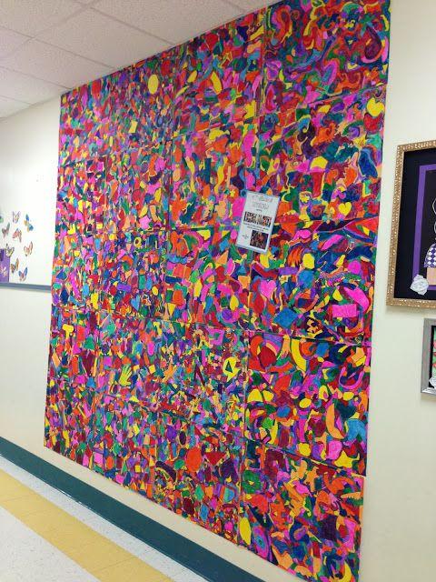 Best 25 school murals ideas on pinterest school for Class mural ideas