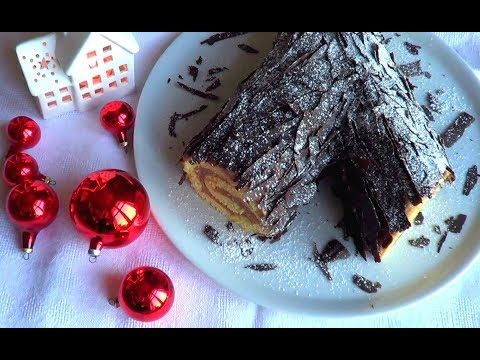 Tronco Di Natale Youtube.Tronchetto Di Natale Youtube Tronchetto Con Crema Castagne