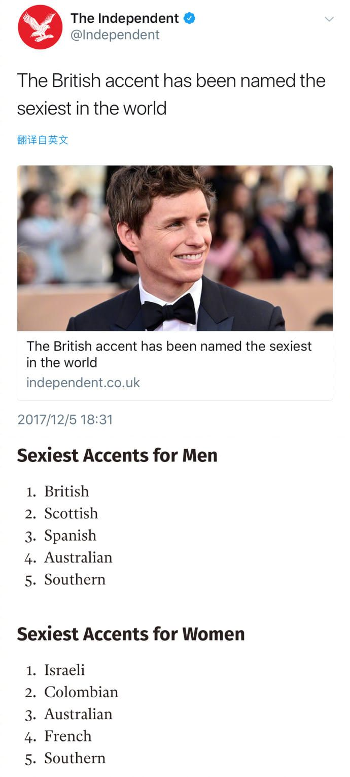 Sexiest Accent British Accent Fandom Funny Nerdy Humor