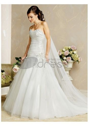Luxury Cheap Beautiful Strapless Wedding Dresses