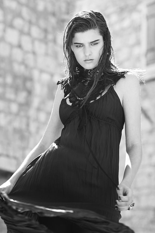 DR8249 'the soul spirit' dress #nevenka #madeinmelbourne #australiandesigner #black