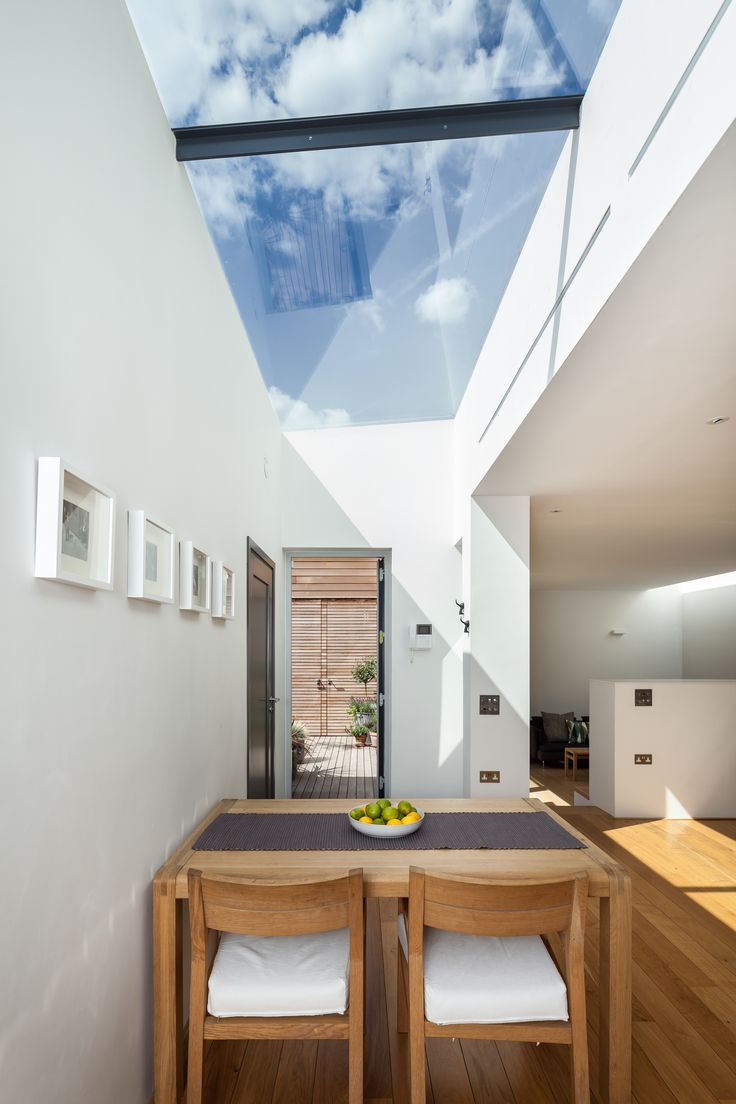 Our Multipart Flushglaze #Skylight - elegant and sophisticated design, meeting thermal and performance criteria.