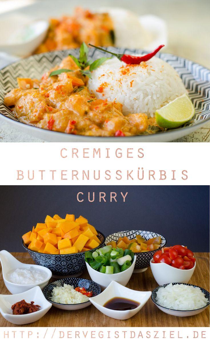 Butternusskürbiscurry, Curry, vegan, glutenfrei