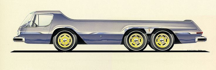 385 best images about VINTAGE CONCEPT CAR ILLUSTRATION on ... Theodore Pietsch