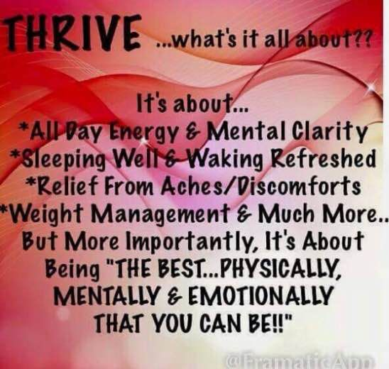 what is thrive? farahackerman.level.com                                                                                                                                                                                 More