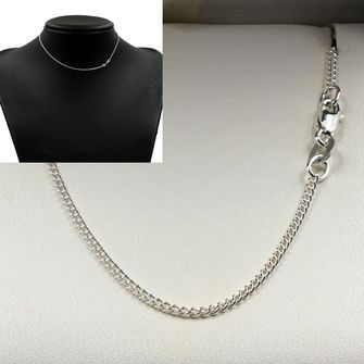Sterling Silver Round Curb Chain - MM-CUR-0001