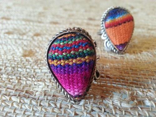 Peruvian Ethnic Lliclla Ring | eBay