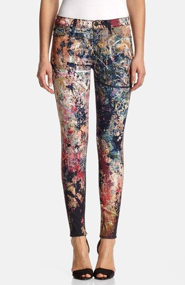 Hudson Jeans 'Nico' Skinny Stretch Jeans (Last Call) available at #Nordstrom